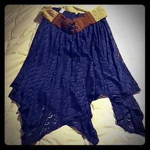 Brand New!!!!   Juniors Blue Skirt